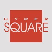HyperSquare Sabre Red App Development Logo